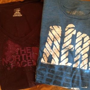 💙Women's the north face/Aeropostale shirt lot💙